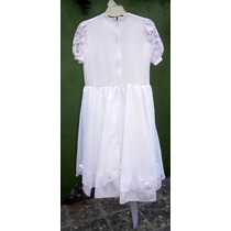 Vestido Tunica De Comunion O Cortejo Children Dior Impecable