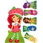 Moranguinho 02 Kit Displays Mdf 6 Mm, Decora Festa Infantil
