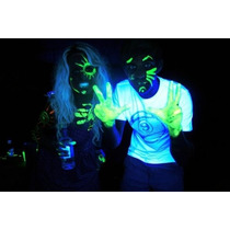 Tubo Maquillaje Neon Fluorescente Pintura Eventos Fiestas