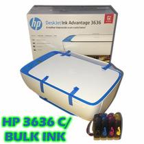 Multifuncional Hp 3636 Wi-fi Com Bulk Ink Fotográfico