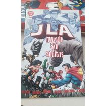 Comic Coleccion Dc Jla Mundo Sin Adultos Tomo 2 Vid