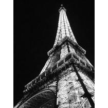 Cuadros Modernos Torre Eiffel Paris En Tela Canvas Bastidor