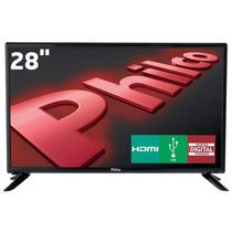 Tv Led 28 Philco Ph28d27d Hd Com Conversor Digital Usb 2 Hd