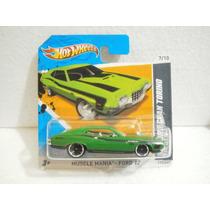 Hot Wheels 72 Ford Gran Torino Sport Verde 117/247 2012 Tc