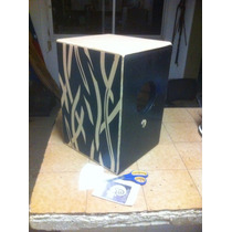 Caja Flamenca Doble Tapa Frontal