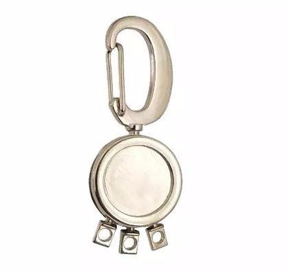 Kit 5 Chaveiros Três Argolas Em Metal Com Mosquetão - R  28,22 em Mercado  Livre 84e4949678