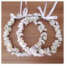 Headband / Tiara De Flores / Coroa De Flores - Karol Art