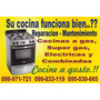 Reparacion Cocinas-estufas.gas,s/gas,electricas Y Combinadas