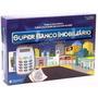Super Banco Imobiliário + Máquina De Cartão Pronta Entrega