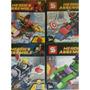 Homem De Ferro Lego Com Nave (coleção 4 Naves + 300 Pcs)