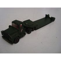 Caminhão Prancha Mack Truck Corgi Major - Grã-bretanha