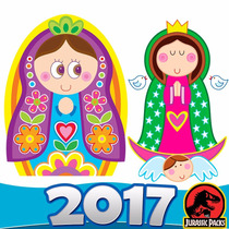 Virgencitas Santitos Kit Imprimilble Angelitos Y Mas 2016