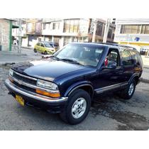 Chevrolet Blazer Ii. Azul. Automatica.motor 4.300 Gasolina.