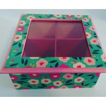 Cajas De Té Decoupage - Varios Modelos!