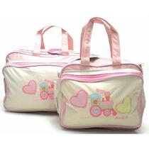 Bolsa Mala Saída Maternidade Kit Bebe Promoção Mv 2526