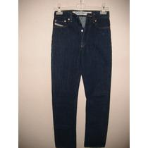 Pantalon Para Dama De Mezclilla Talla 27 Color Azul Nuevo