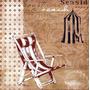 Poster (30 X 30 Cm) Cabana Beach American Collage I Paul