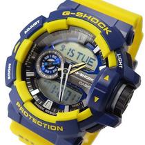 Reloj Casio G Shock Ga-400-9b Dual Time Crono Wr200m