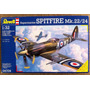 Spitfire Mk3 Maqueta Caza Avión Aramar Revell 1/32 Kit 3986