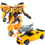Transformers Bumblebee + Mascara  Sonido Led 78725/ Fernapet<br><strong class='ch-price reputation-tooltip-price'>$ 9.990</strong>