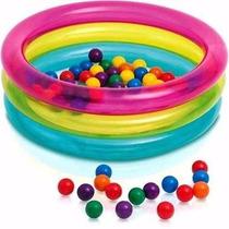 Piscina De Bolinhas Intex Infantil Multi Color 50 Bolinhas