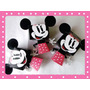 Cajitas Golosineras Minnie, Mickey Lo + Original Para Cumple