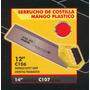 Serrucho Costilla Mango De Plastico 14pulg Black Jack C107