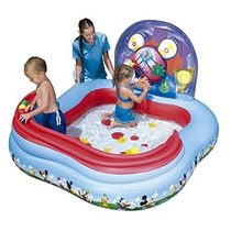 Pileta Inflable Mickey Mouse 160 X 91cm Bestway Play Center