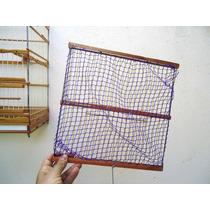 Alçapão De Rede - Trinca Ferro - 30cm X 30cm
