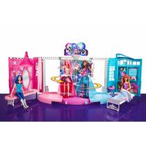 Casa Barbie Palco In Rock´n Royals Show Mattel Promoção