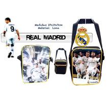Bolso Bandolero Porta Tablet Real Madrid Minions