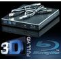 Gravadora Blu-ray 3d Usb Externo Slim Cd Dvd Leitor Bluray