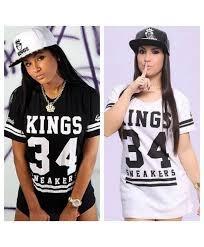 Camisa Vestido Kings Feminino + Bone Kings Gratis Original - R  89 ... 78cf8856ee2