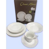 Aparelho De Jantar Ceramica 16 Peças Mimo Style 4 Pessoas V