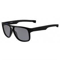 Óculos De Sol Lacoste Preto Com Hastes Ajustáveis