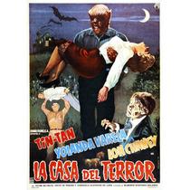 Dvd Clasico German Valdez Tin Tan La Casa Del Terror Tampico