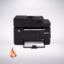 Impresora Hp Laser Pro 100 Multifuncional M127 Monocromatica