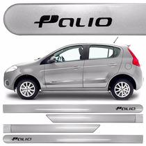 Friso Lateral Fiat Palio 2014 A 2016 Prata Bari *