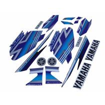 Kit Adesivos Yamaha Xtz 125 2009 Azul