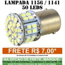 Lampada 1156 1 Polo 50 Leds Hiper Branca Ré E Pisca - 1156