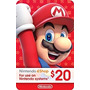 Tarjeta 20$ Nintendo Eshop Card 3ds Dsi Wii U<br><strong class='ch-price reputation-tooltip-price'>S/. 64<sup>00</sup></strong>