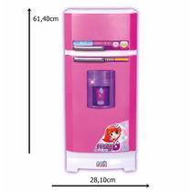 Cozinha Infantil Geladeira Mágica Super 8052 + Acessórios