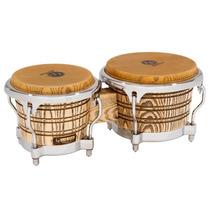 Bongos Lp Latin Percusión Galaxy Giovanni Tambor Natural