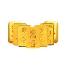 Barra De Ouro Puro 24k Certificada 1 Grama