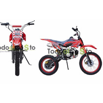Moto Enduro 125cc 4velocidades 2016 Pit Bike Motor 4 Tiempo