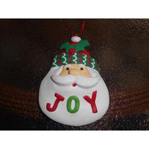 Enfeite Papai Noel Joy Para Pendurar