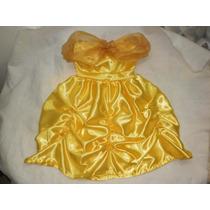 Disfraz De Princesa Bella Niña Nena Calidad Princesas