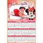 10 Calendário Personalizado 14x21 Cm - Qualquer Tema - Lindo