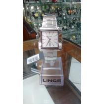 Relógio Lince Inox Masculino (orient) Mqm437l Prova 30 M --