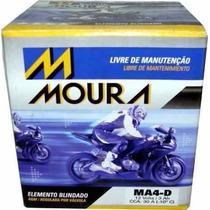 Bateria Moura Moto - 12v E 4ah P/ Biz, Cg125 E Outras